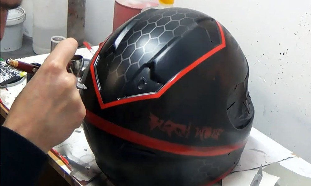 Custom Helmet Painting Price